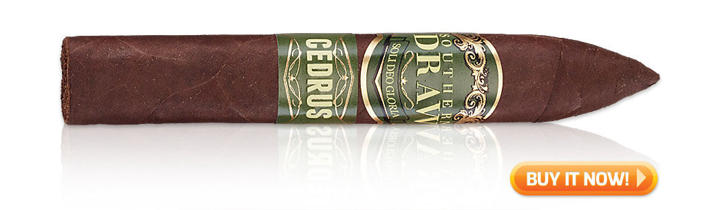 2019 top sleeper cigars cedrus cigars by southern draw cigars at Famous Smoke Shop
