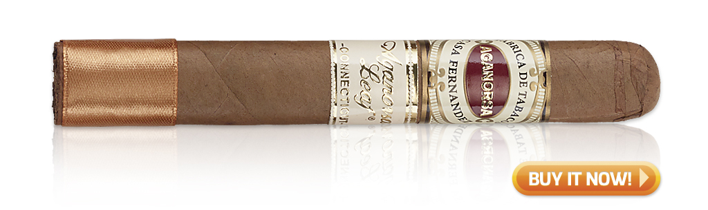 Best Cigars for Morning, Noon and Night Aganorsa Leaf connecticut cigars at famous Smoke Shop
