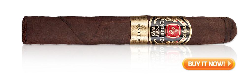 2019 top sleeper cigars EP Carrillo Core Plus Maduro cigars at Famous Smoke Shop