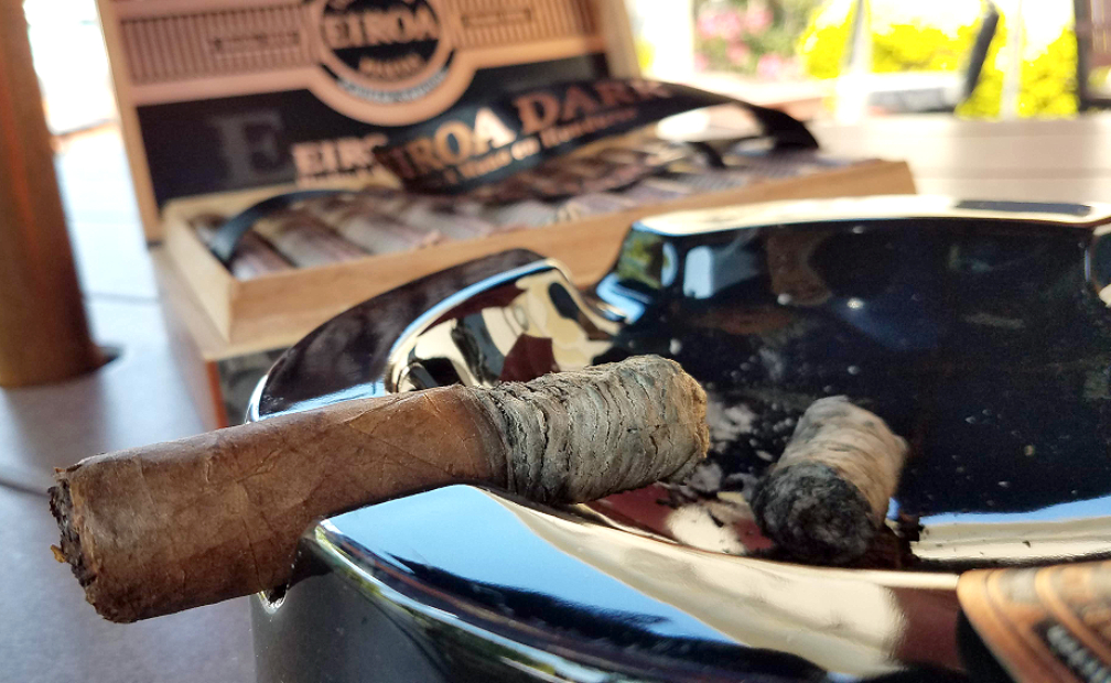 #nowsmoking eiroa dark cigar review by Gary Korb eiroa dark natural cigars