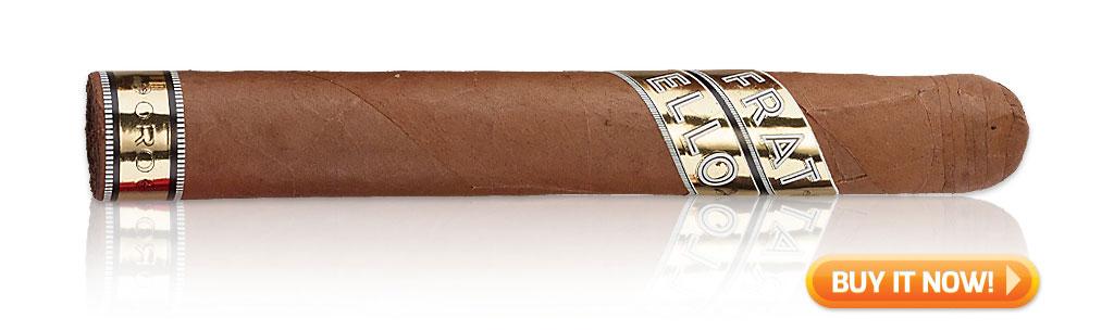 2019 top sleeper cigars Fratello Oro cigars at Famous Smoke Shop