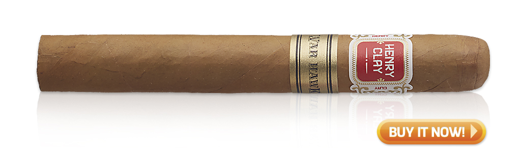 Best Cigars for Morning, Noon and Night Henry Clay War Hawk cigars at Famous Smoke Shop