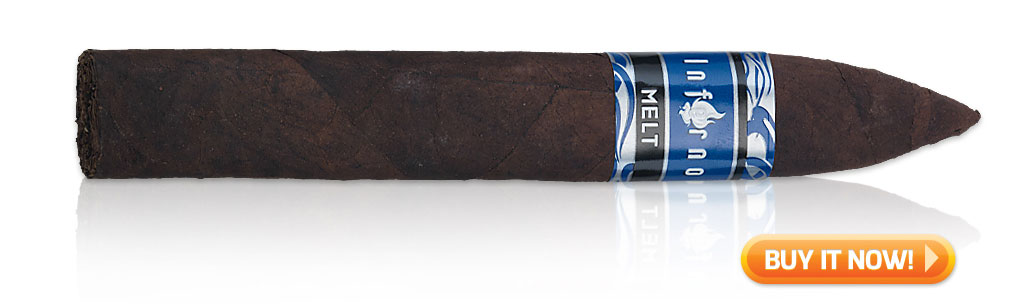 2019 top sleeper cigars Oliva Inferno Melt cigars at Famous Smoke Shop