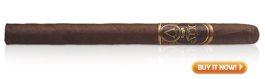 Best Cigars for Morning, Noon and Night Oliva Serie V cigars at Famous Smoke Shop