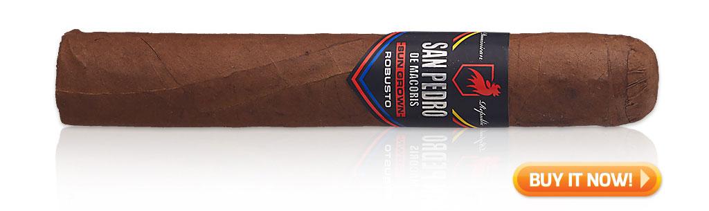 2019 top sleeper cigars San Pedro de Macoris Sun Grown cigars at Famous Smoke Shop