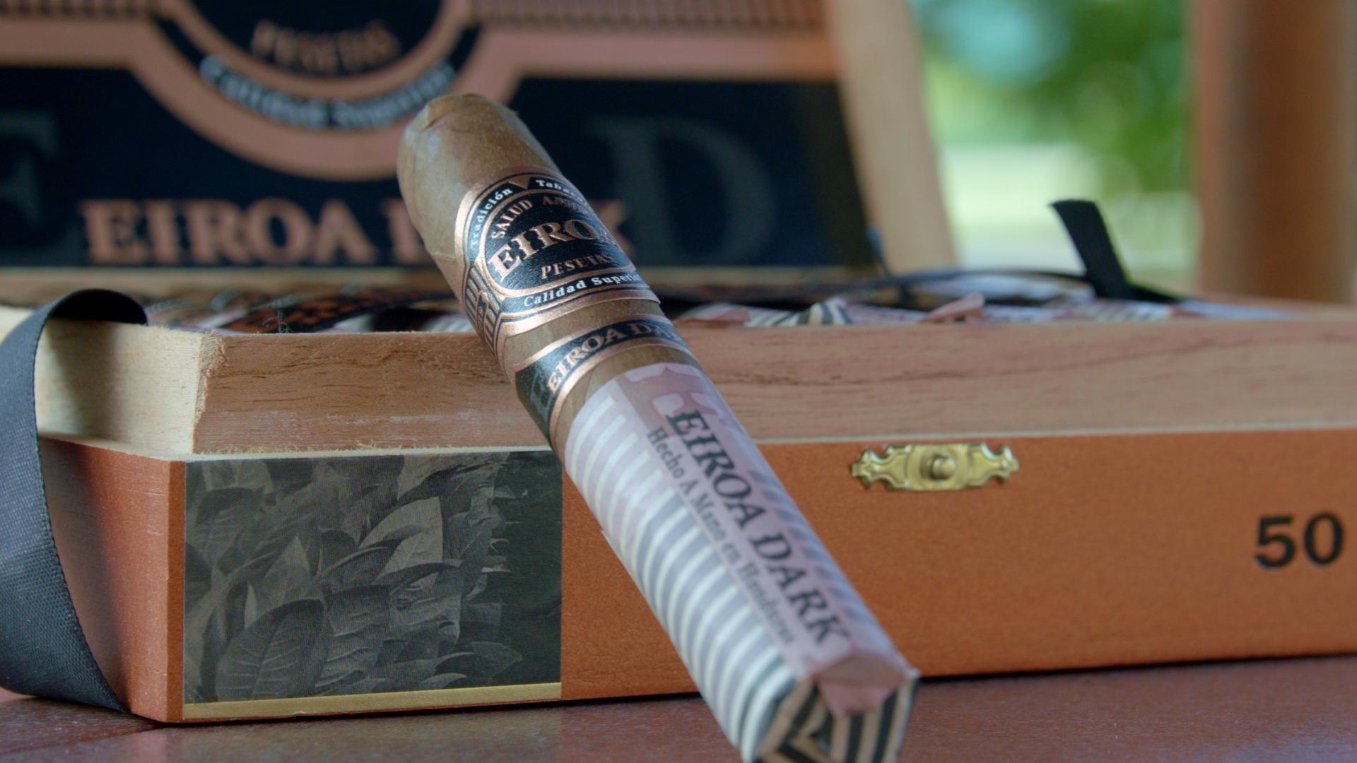 #nowsmoking eiroa dark cigar review eiroa dark natural cigars box