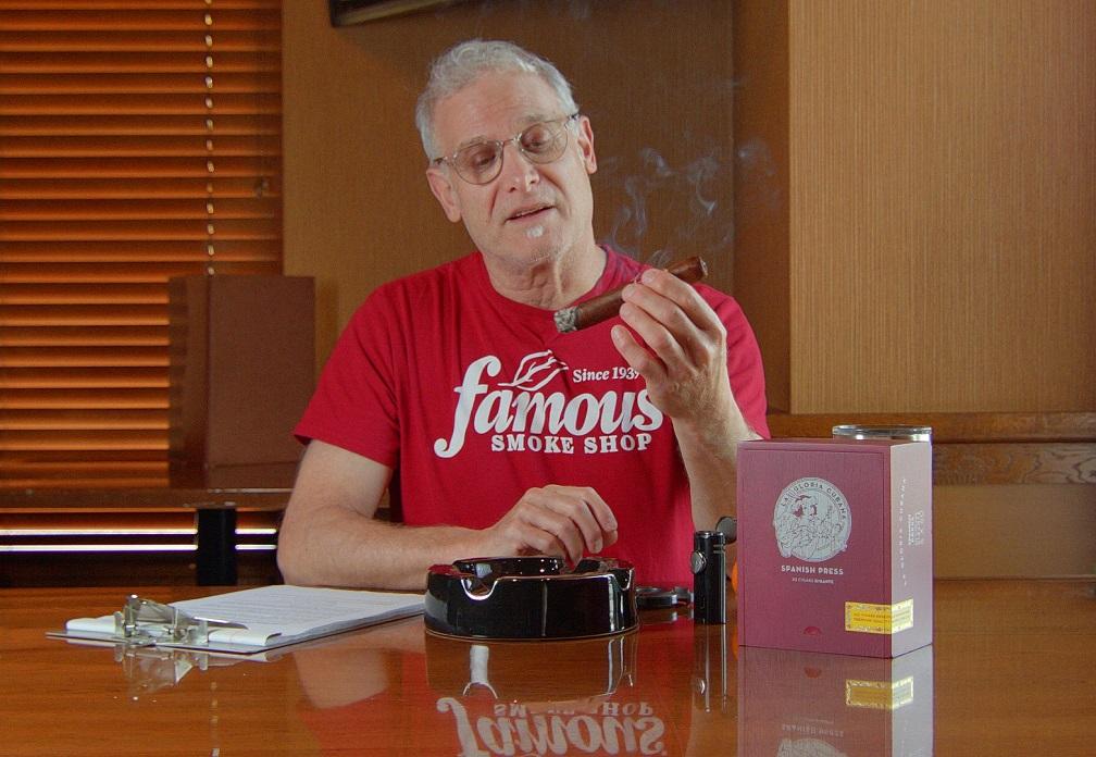 #nowsmoking La Gloria Cubana Spanish Press cigar review by Gary Korb 2