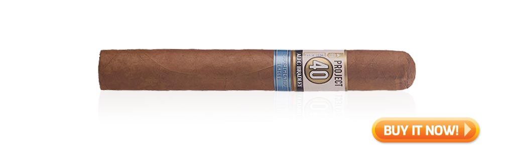 mid-year top 10 cigars of 2019 Alec Bradley Project 40 cigars at Famous Smoke Shop