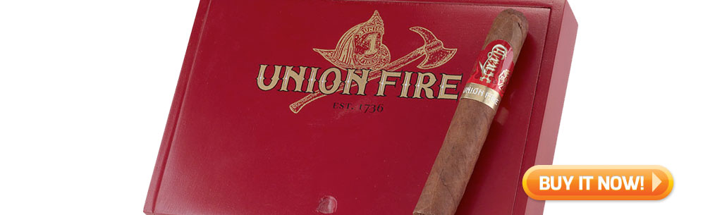 top new cigars July 8 2019 Crux Union Fire cigars at Famous Smoke Shop