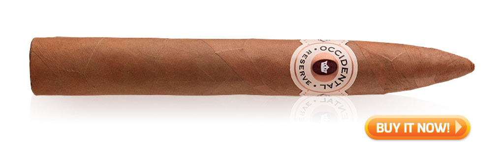 10 top rated dominican cigars under $10 Occidental Reserve Connecticut cigars at Famous Smoke Shop