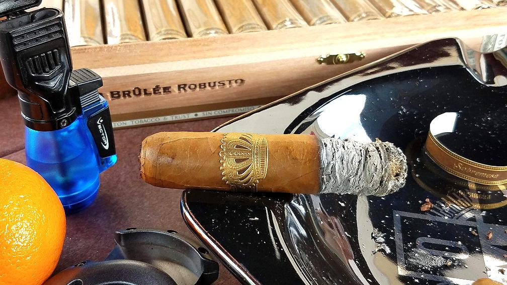 #nowsmoking sobremesa brulee cigar review robusto