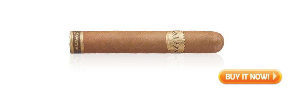 nowsmoking sobremesa brulee cigar review at Famous Smoke Shop