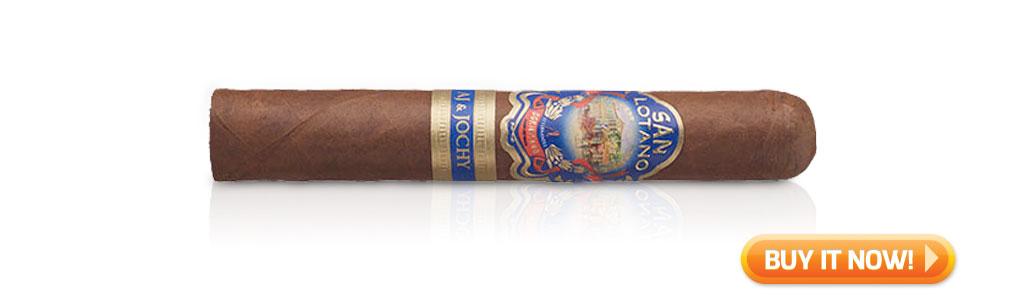 #nowsmoking san lotano dominicano cigar review robusto at Famous Smoke Shop