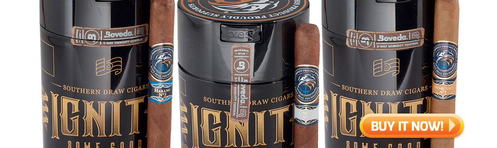 top new cigars september 2 2019 southern draw ignite cigars at Famous Smoke Shop