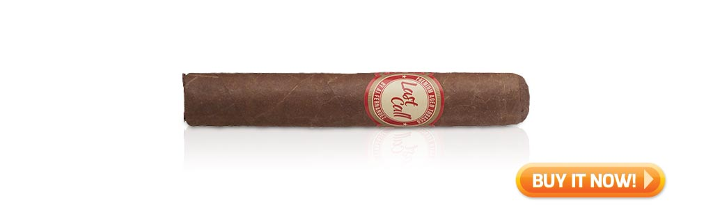10 best medium bodied cigars fall 2019 Last Call by AJ Fernandez cigars at Famous Smoke Shop