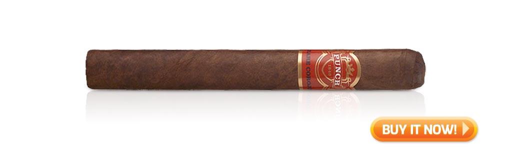 10 best medium bodied cigars fall 2019 Punch Rare Corojo cigars at Famous Smoke Shop