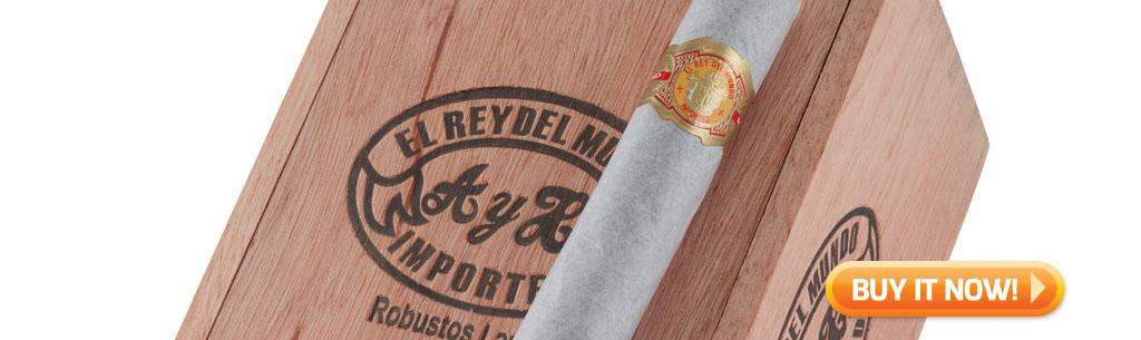 Top New Cigars El Rey Del Mundo cigars at Famous Smoke Shop