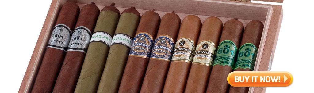 Top New Cigars Espinosa Limited Famous Exclusivo cigar sampler at Famous Smoke Shop