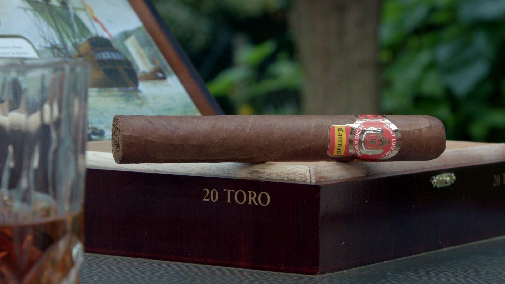 saint luis rey carenas toro cigar drink pairing from the cigar advisor panel review