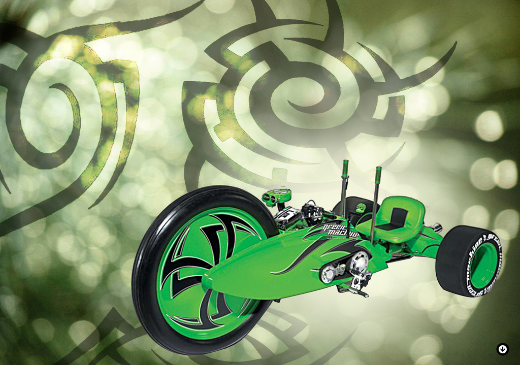 the green machine big wheel