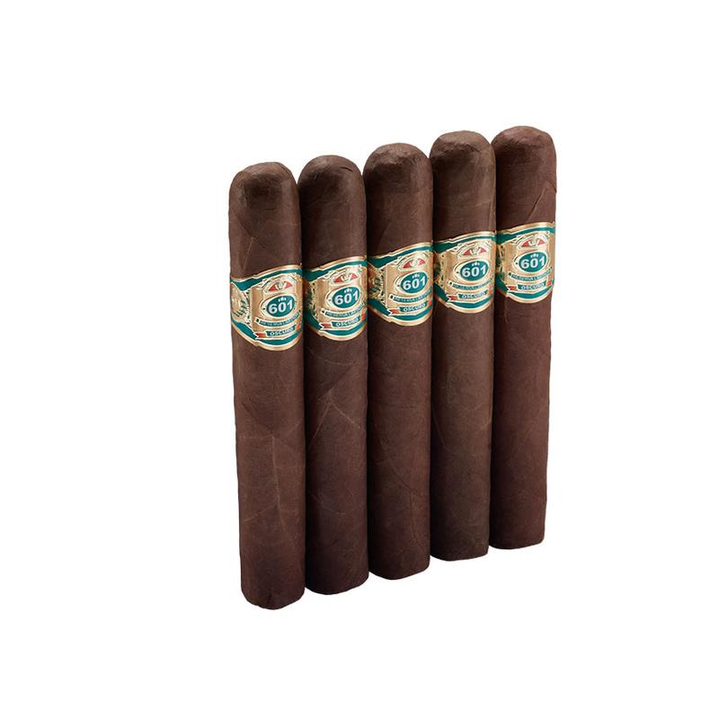 601 Green Label Oscuro  Trabuco 5 Pack