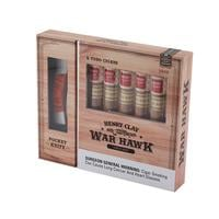 Henry Clay War Hawk 6 Toro Cigars and Huntsman Pocket Knife