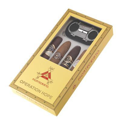 Montecristo Operation Hope 4 Pack with Slimline V Cut