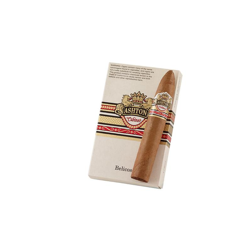 Ashton Cabinet Selection  Belicoso 4 Pack