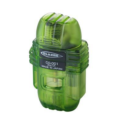 Blazer CG-001 Cigar Lighter Clear Green
