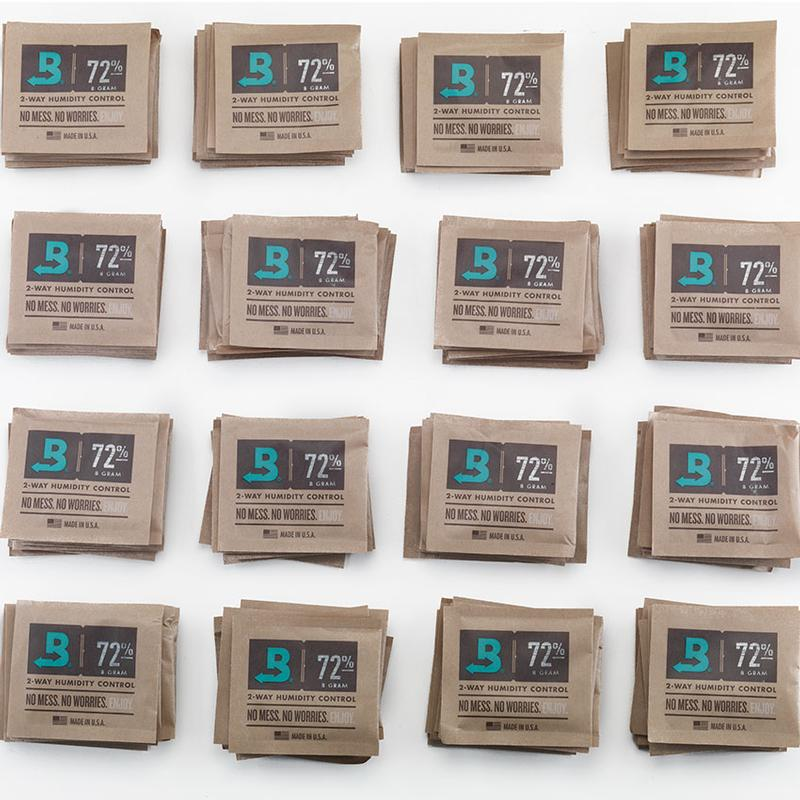 Boveda  72 percent Humidity 300 Count 8 Gram Packets