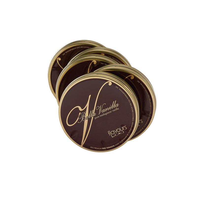 CAO Flavours CAO Bella Vanilla 50g Pipe Tobacco 5 Pack