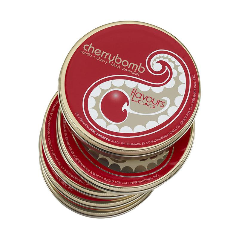 CAO Flavours CAO Cherrybomb 50g Pipe Tobacco 5 Pack