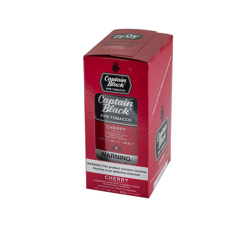 Captain Black  Cherry 6 Pack Pipe Tobacco