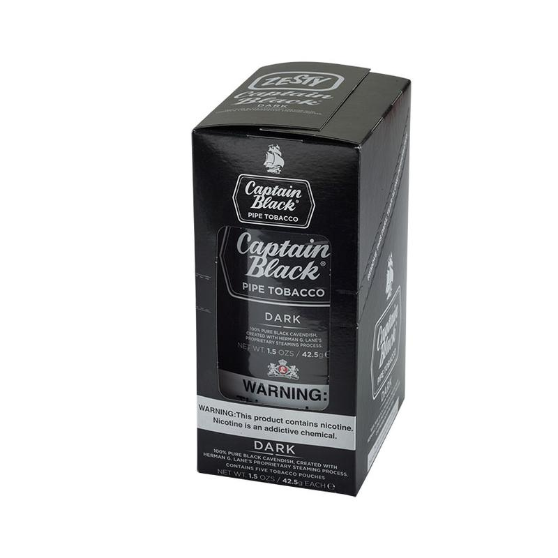 Captain Black  Dark 6 Pack Pipe Tobacco