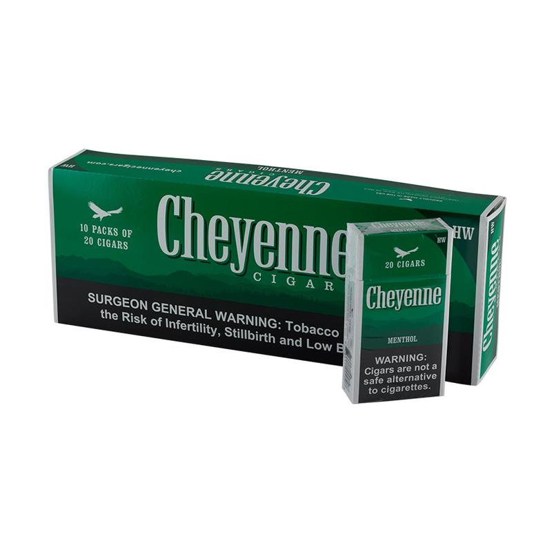 Cheyenne Heavy Weights Menthol 10/20