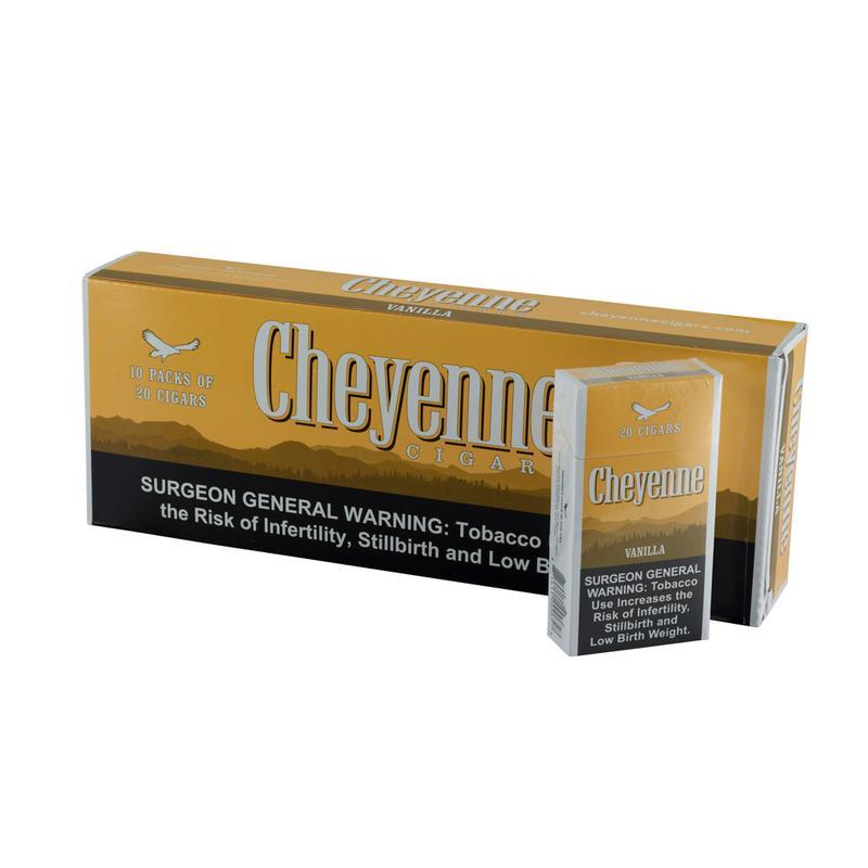 Cheyenne  Vanilla Flavor 100s 10/20