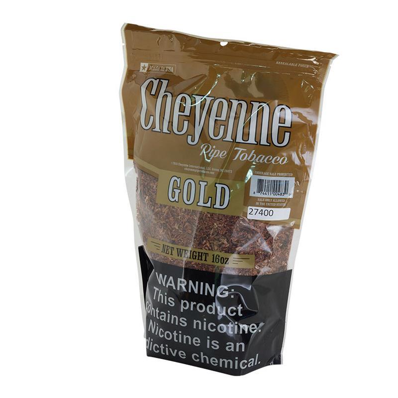 Cheyenne  Pipe Tobacco Gold 16oz.