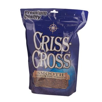 Criss Cross Pipe Tobacco Smooth Blend 16oz.