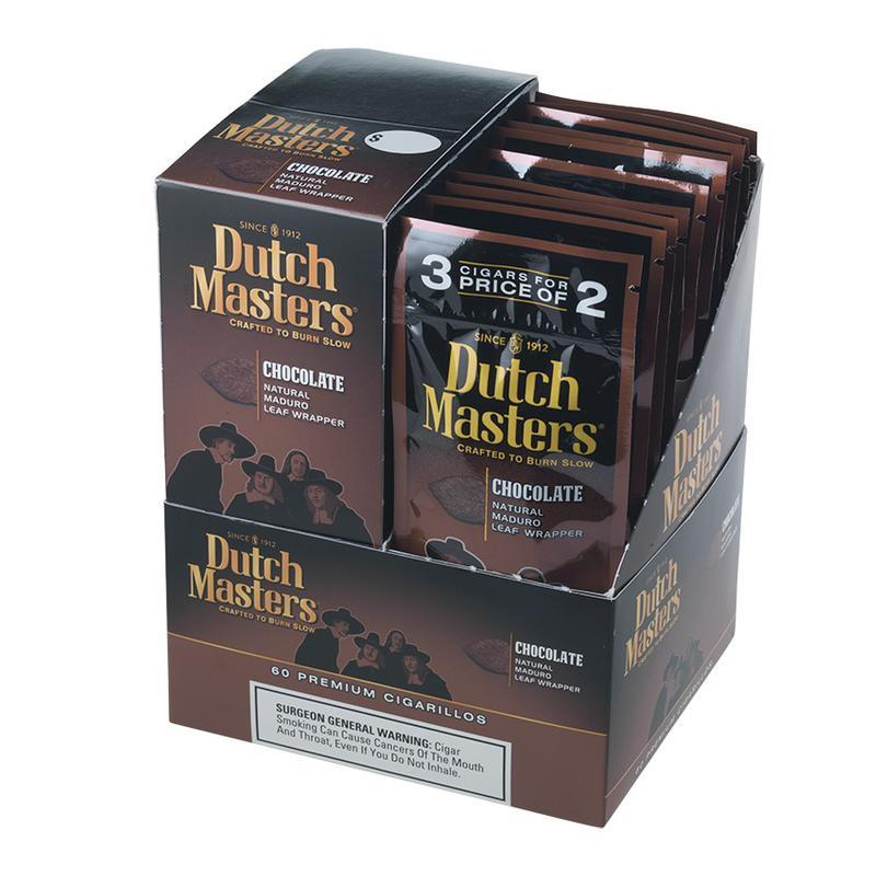 Dutch Masters Cigarillos  Chocolate 20/3