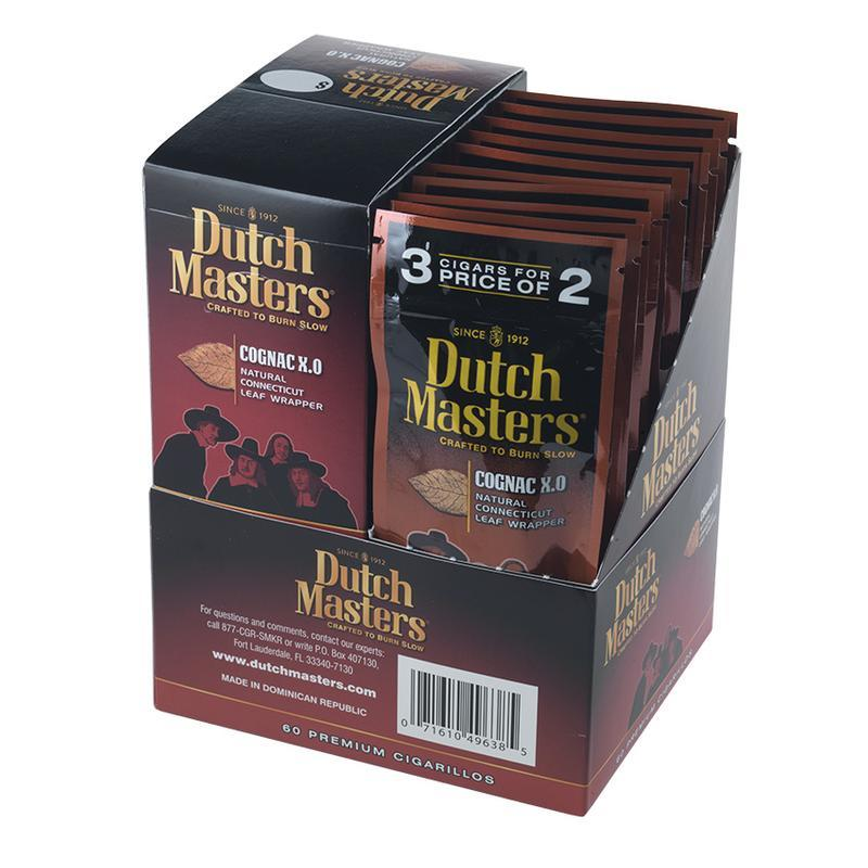 Dutch Masters Cigarillos  Cognac XO 20/3