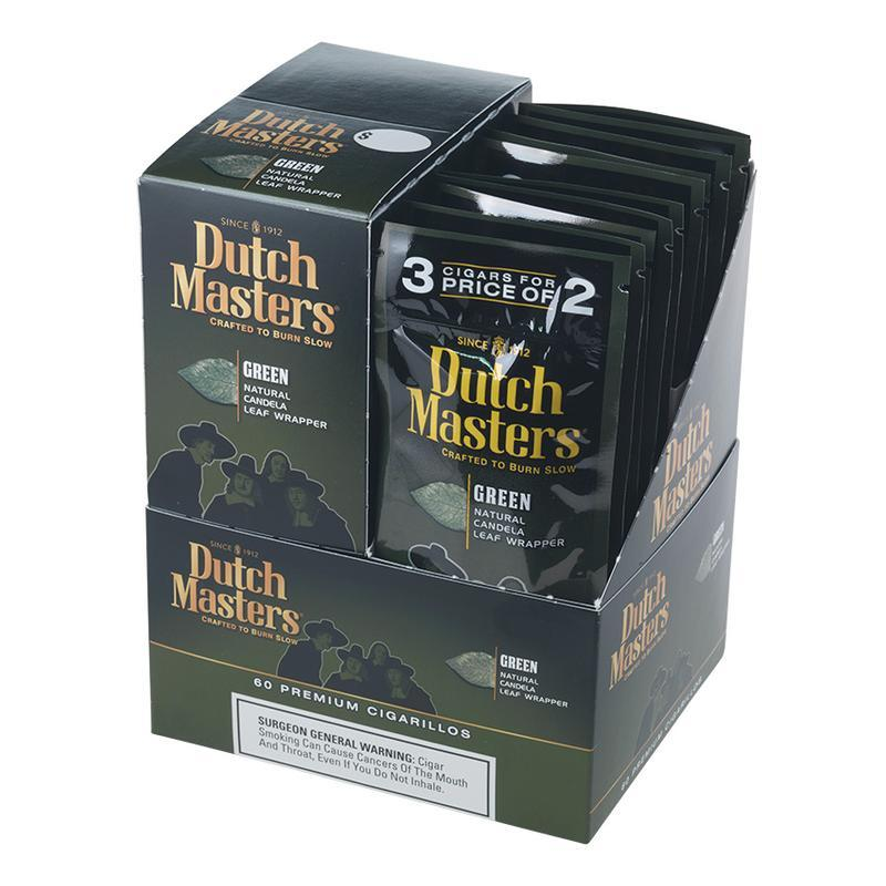 Dutch Masters Cigarillos  Green 20/3