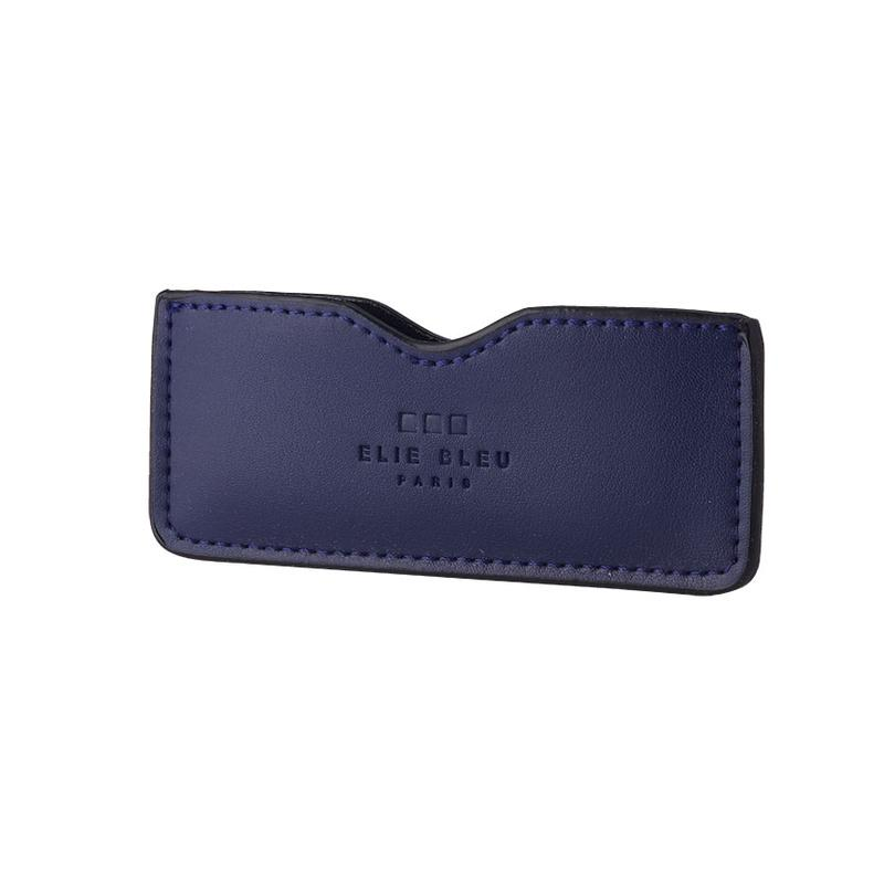 Elie Bleu  Cigar Cutter Case Blue Leather