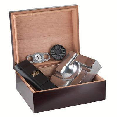 'The Rookie' Cigar Smoker's Humidor - GS-GIF-ROOKIE