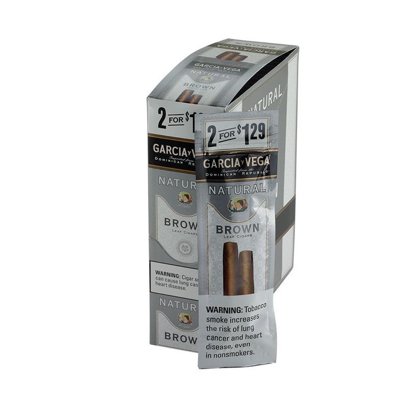 Garcia y Vega  Natural Brown Cigarillo 15/2