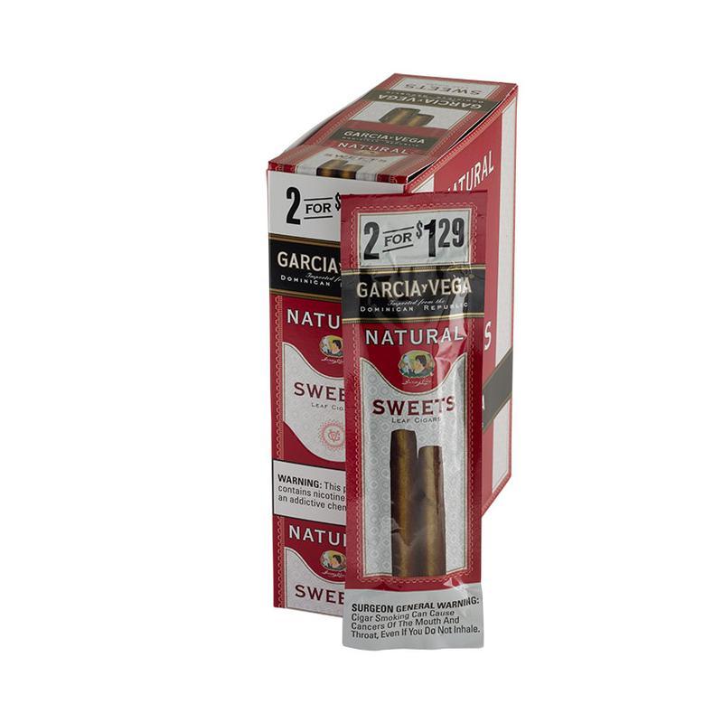 Garcia y Vega  Natural Sweets Cigarillos 15/2