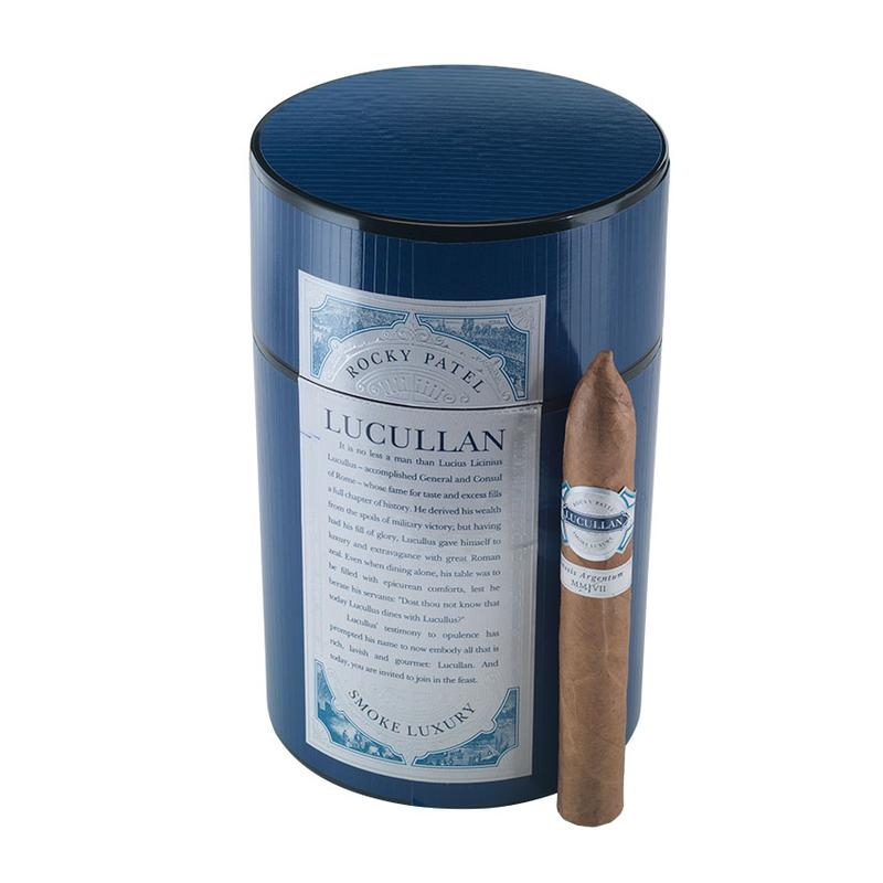 Lucullan Classis Argentum by Rocky Patel Lucullan Classis Argentum Torpedo