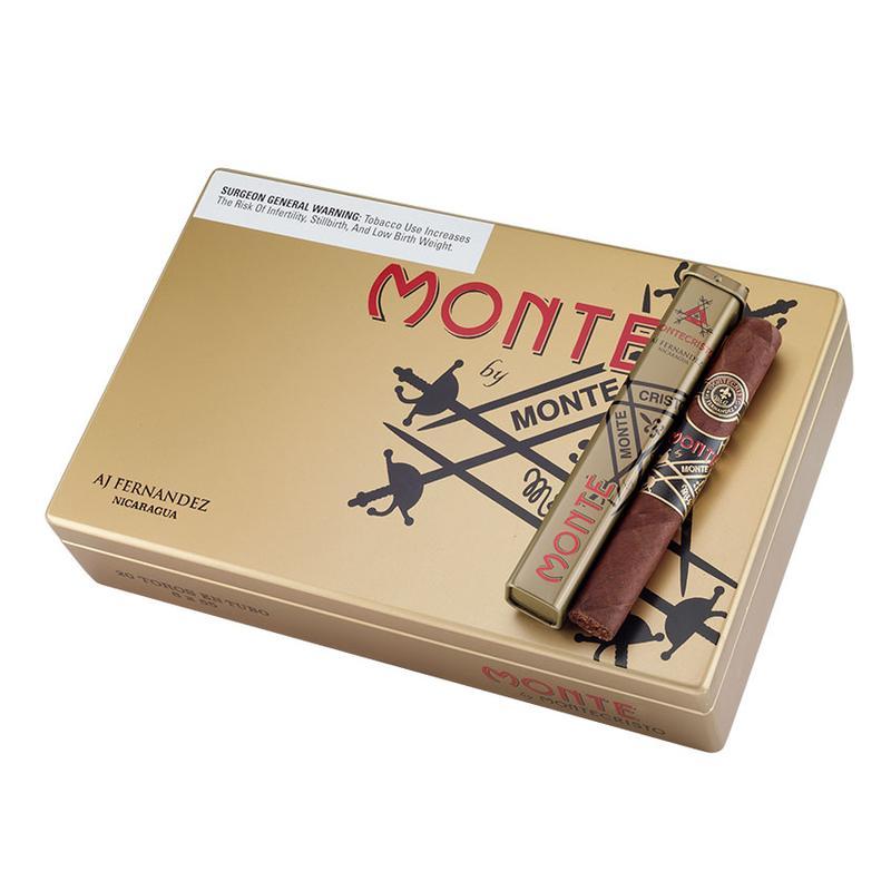 Monte By Montecristo By AJ Fernandez Monte By AJ Fern Toro En Tubo