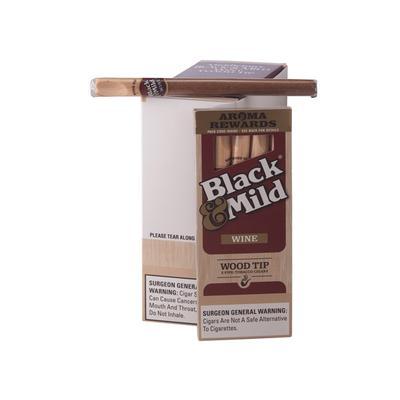Wood Tip Black N Mild 67