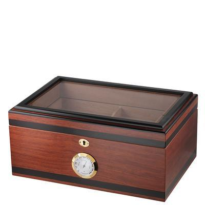 Bally V Glass Top Humidor