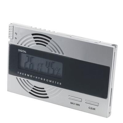 Digital Thermo-Hygrometer Silver
